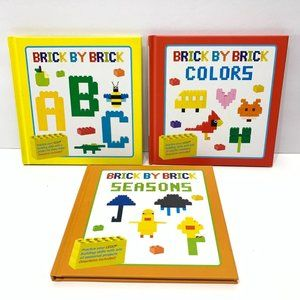 Brick By Brick 3 Pack ABC, Colors, and Season New